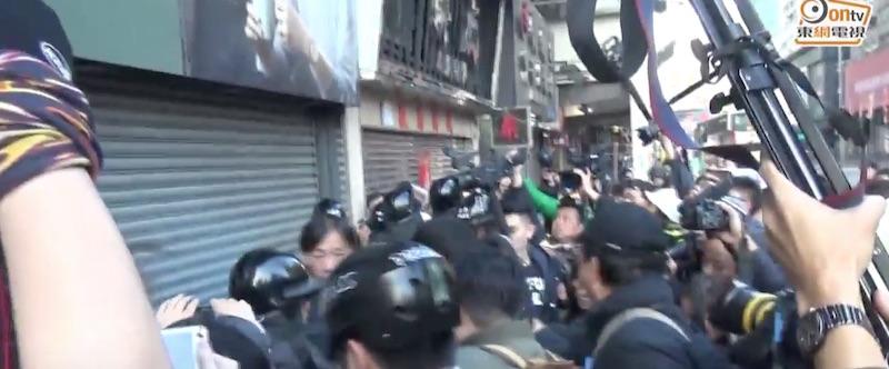 media protest