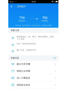 Inviting friends to Alipay will heighten your credit score.