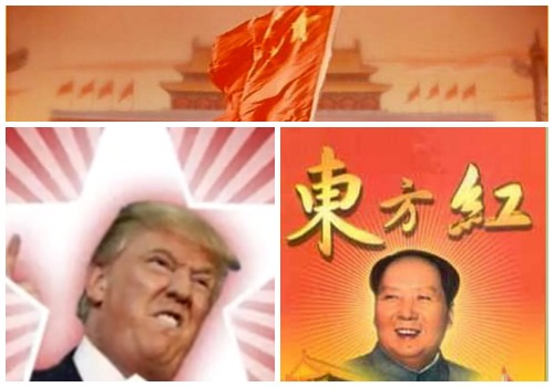 Americas Great Savior Communist Mao Song Turned Into Donald