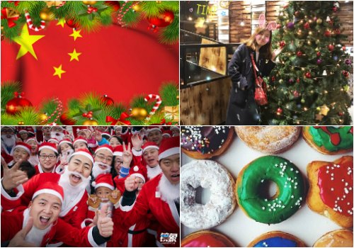 Chinese Christmas.Christmas In China Santa Claus Is Coming What S On Weibo