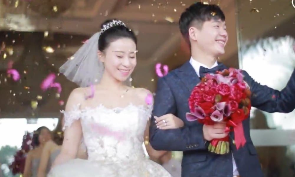 China S Wedding Of The Year Is Talk Day On Weibo