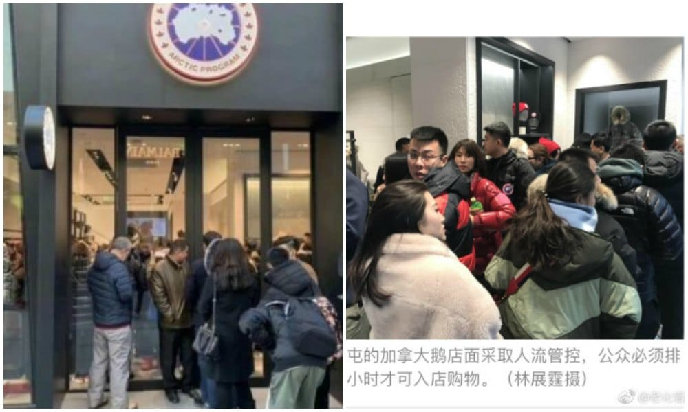 "Chinese Consumers Indifferent to Diplomatic Spat Between China and Canada  as ""Canada Goose Boycott"" Backlashes 9ac2d9340b"