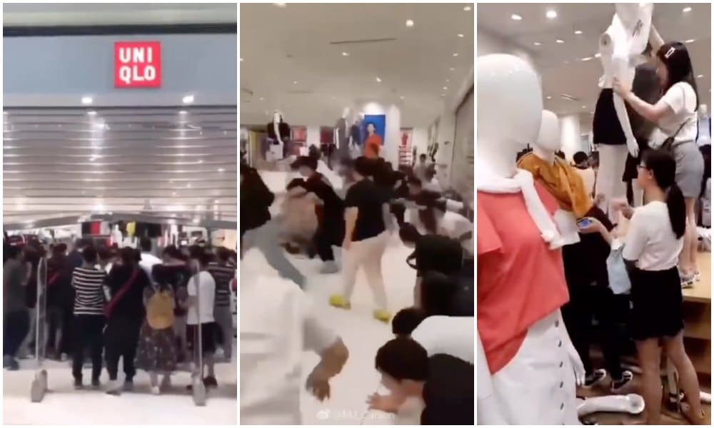 Chinese Shoppers Are Going Absolutely Crazy over UNIQLO x
