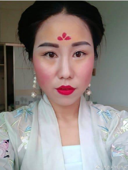 The Mulan Makeup Challenge Traditional