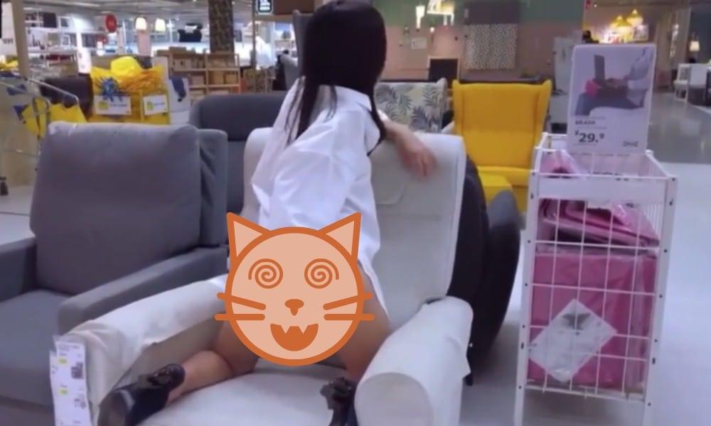 Viral Video of Woman Masturbating at Ikea Store in China