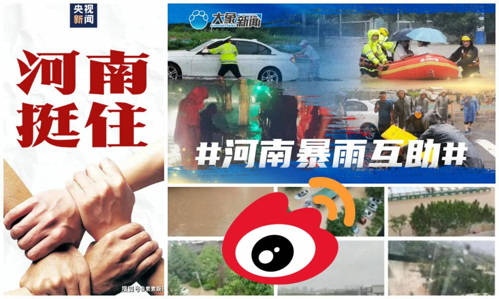 Social media is utilized as a tool in the response to the floodings in Henan province. Once again, Weibo facilitates active public participation to pr